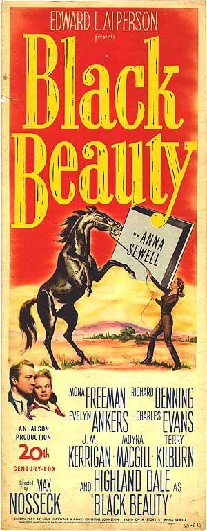 Black Beauty (1946) Poster