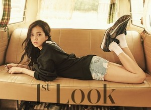 Black rosa rock vintage casual fashion for '1st Look'