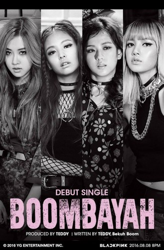 Black 粉, 粉色 壁纸 possibly containing a portrait titled Black 粉, 粉色 to debut with 'BOOMBAYAH'!