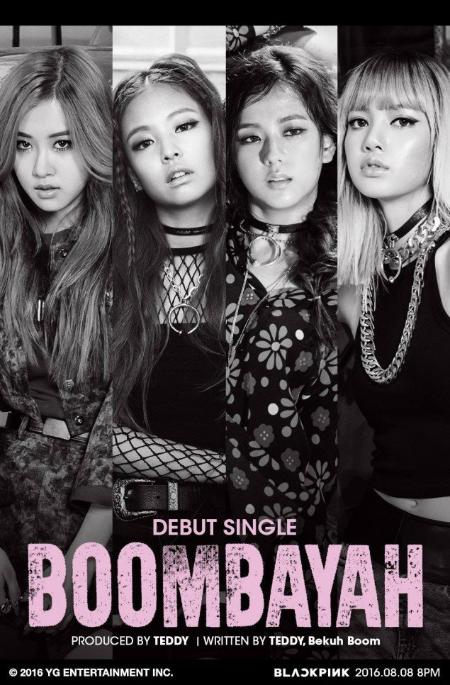 Black rosado, rosa to debut with 'BOOMBAYAH'!