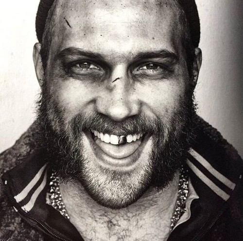 Suicide Squad 바탕화면 titled Black and White Portrait - Captain Boomerang