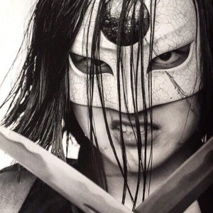 Black and White Portrait - Katana