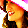 Blair Waldorf litrato probably with a fedora, a boater, and a snap brim hat titled Blair Icon