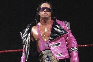 Bret hart my favourite champion