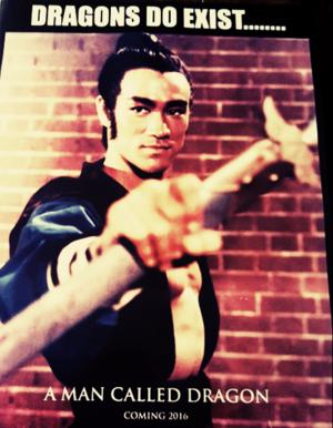 Bruce Lee dragon of jade warrior costume golden harvest thunderbolt mark ashys own