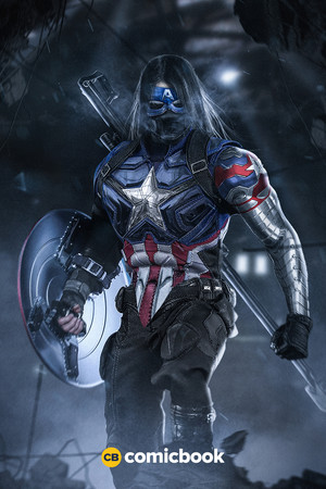 Bucky As Captain America