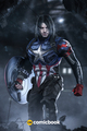 Bucky As Captain America - captain-america photo