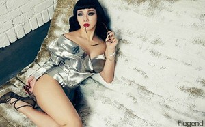 CL shows off a whole new kind of sexy in 'legend' pictorial