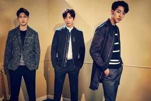 CNBLUE are the definition of fall classy for new 'The Class' collection
