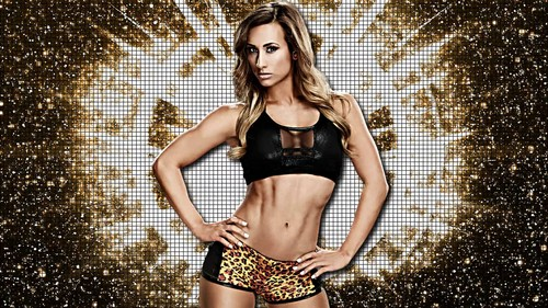 WWE wallpaper possibly with a bikini, attractiveness, and a swimsuit called Carmella