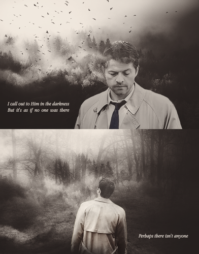 Supernatural Wallpaper With A Business Suit Entitled Castiel