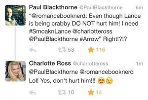 Charlotte & Paul tweets