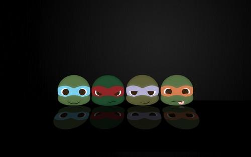 2012 Teenage Mutant Ninja Turtles wallpaper titled Cinefilia LAS TORTUGAS NINJA. Leonardo Michelangelo Donatello y Raphael 12
