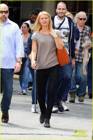 Claire Danes Kicks Off 'Homeland' Filming in New York City