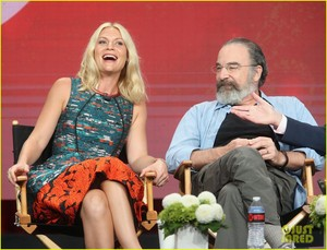 Claire Danes and Mandy Patinkin Attend TCA Panel!