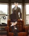 Conan and Shinichi - detective-conan photo