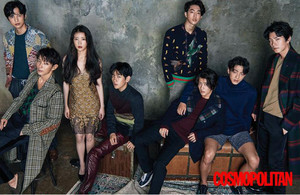 Cosmopolitan Korea তারকা Style: Moon প্রেমী - Scarlet হৃদয় Ryeo Casts