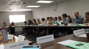 Criminal Minds 12x03 Table read with Paget :)