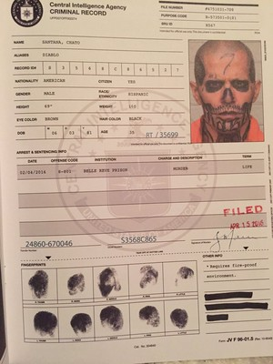 Criminal Record:  Chato Santana