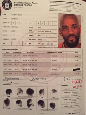 Criminal Record:  Floyd Lawton