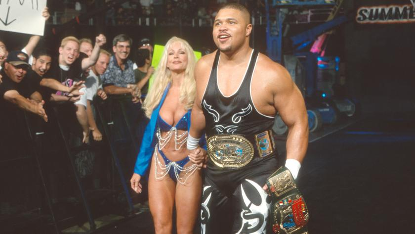 D'Lo Brown & Debra - Summerslam 99'