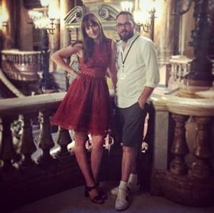 Dakota with a Fifty Shades producer