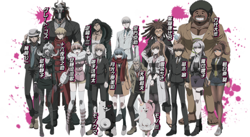 Dangan Ronpa wallpaper called Danganronpa 3 Mirai Hen Cast