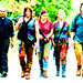 Daryl, Carol, Tara and Gabriel - daryl-dixon icon