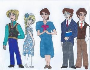 Descendants 2: the Arendelle kids/Teachers