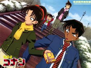 Detective Conan fondo de pantalla
