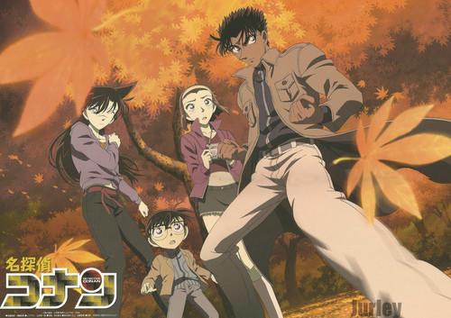 Group Of Conan Wallpaper