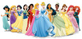 Disney Princesses with Elena - disney-princess photo