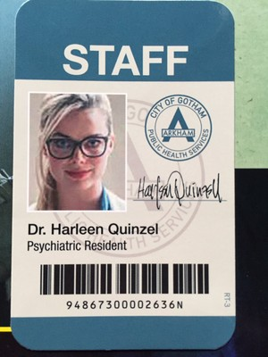 Dr. Harleen Quinzel's ID