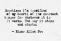 EdgarAllanPoeQuote - edgar-allan-poe photo