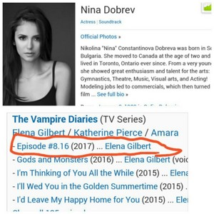 Elena will return in s8 ep.16