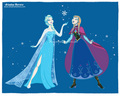 Elsa and Anna - elsa-and-anna fan art