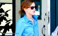 Emma Watson leaving Los Burritos in LA [June 02, 2013] - emma-watson photo