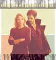 Emma and Killian  - once-upon-a-time fan art