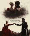 Emma and Killian  - once-upon-a-time fan art