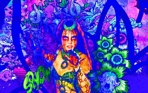 Suicide Squad wallpaper entitled Enchantress