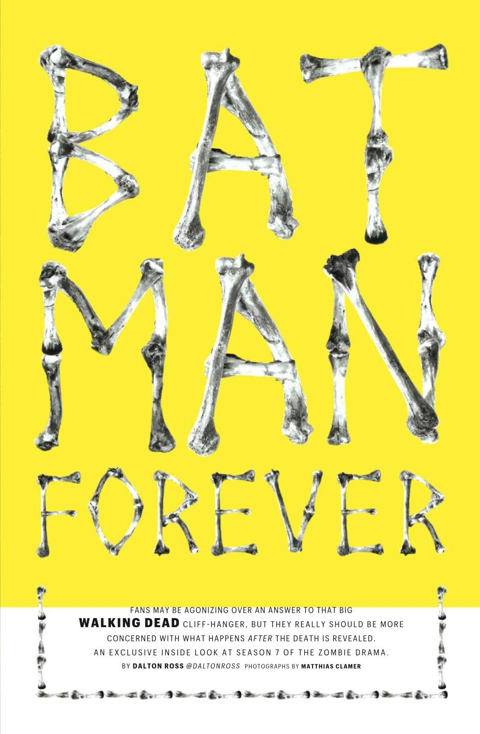 Entertainment Weekly Статья ~ Bat Man Returns