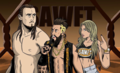 Enzo and Cass - wwe fan art