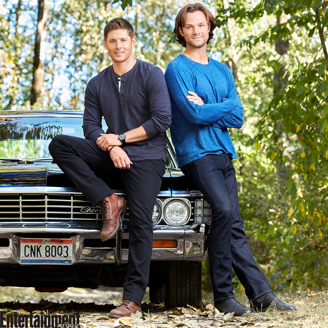 Exclusive foto of the Supernatural Cast | Jensen and Jared