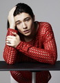 Ezra Miller - L'Uomo Vogue Photoshoot - 2012