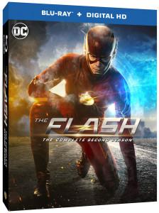 FLASH Season 2 Blu-ray DVD