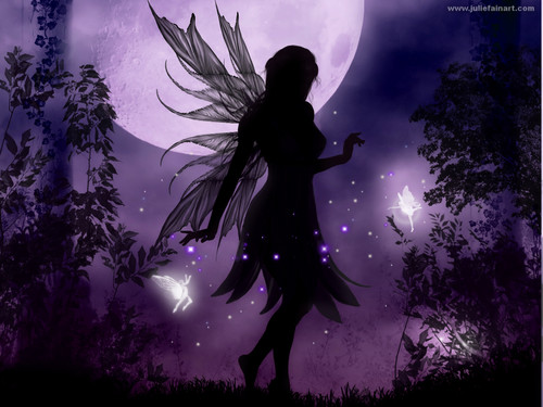 Fairies wallpaper called Fairy Silhouette