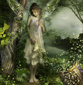 Fairy in Magical Forest - fairies fan art