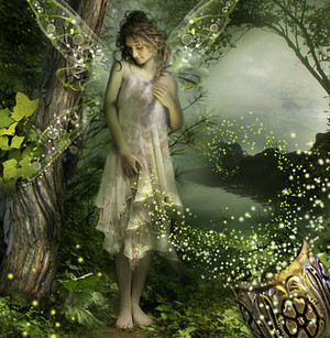 Fairy in Magical Forest