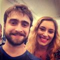 Fan Selfies with Daniel Radcliffe at Privacy Stage Show. (Fb.com/DanielJacobRadcliffeFanClub) - daniel-radcliffe photo