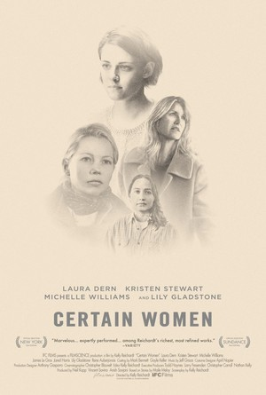 First Poster For 'Certain Women'